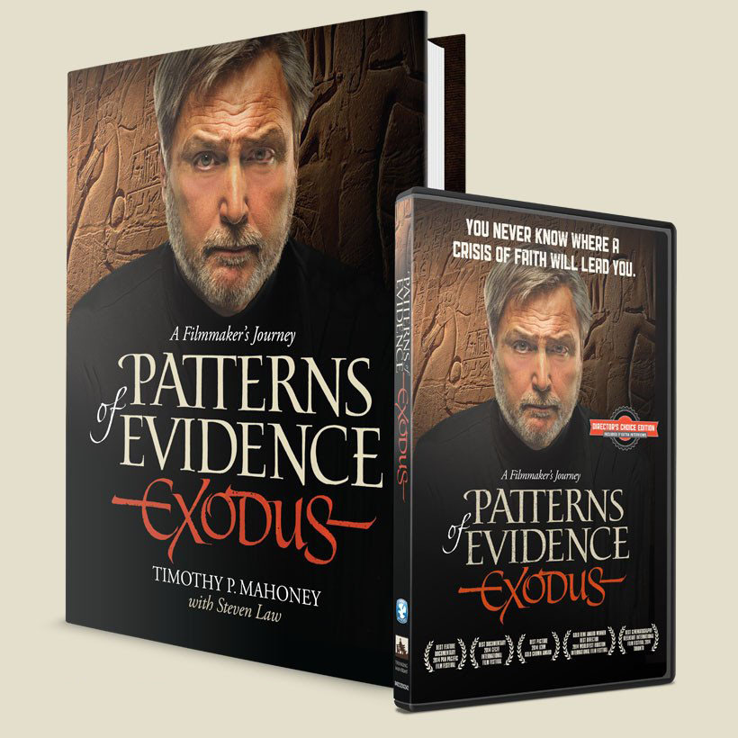 Patterns of Evidence: Exodus – SPECIAL Book & DVD Pack