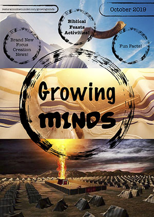 Growing Minds Magazine - October 2019